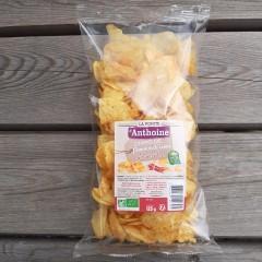 Chips de pommes de terre bio au piment d'Espelette - 125 g
